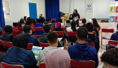 الدورة الرابعة من قافلة التوجيه الجامعي لمؤسسة التوجيه كارفور .