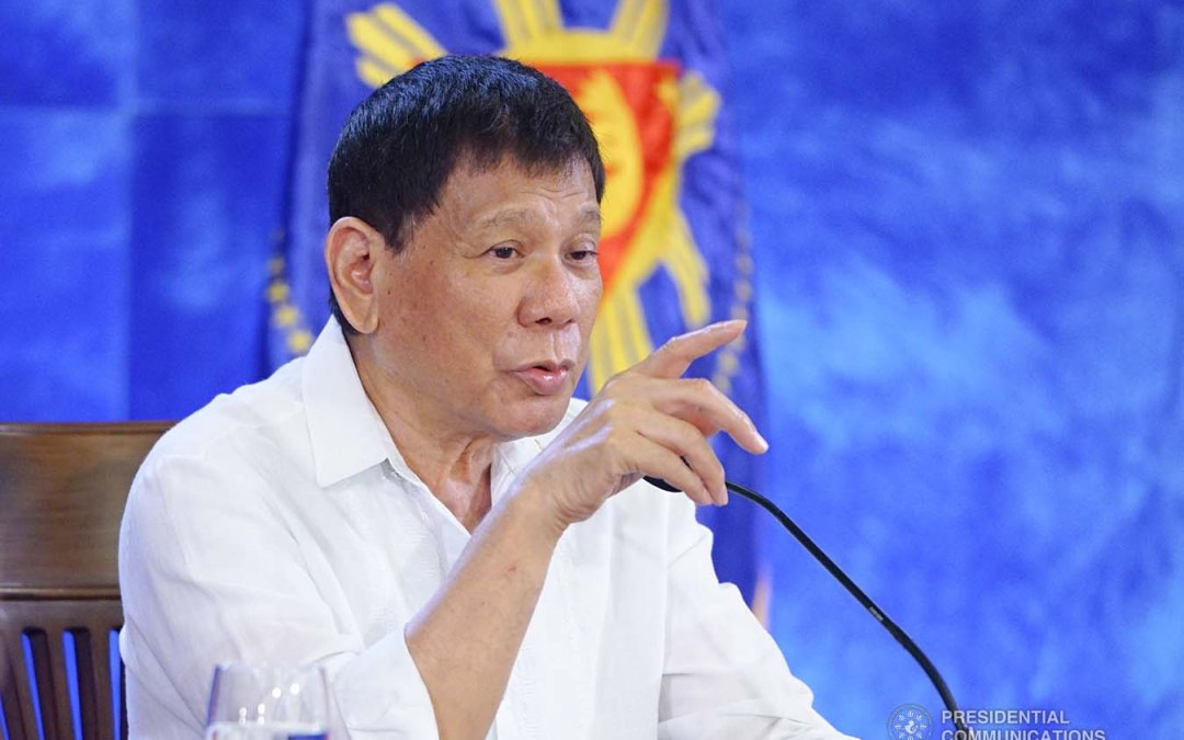 Duterte wants COA to collect P140M from Gordon