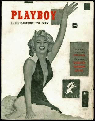 Marilyn Monroe 8x10 Photo Image 1953 Playboy Magazine Cover ...