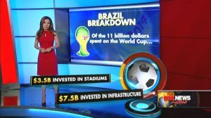 World Cup Brazil is costing Brazilians 11 million dollars