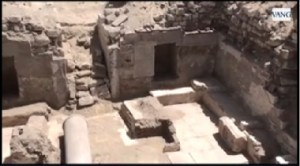 Discovered Tomb in Oxyrhynchus