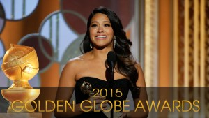 Gina Rodriguez won a Golden Globe for Best Actress at the 2015 awards ceremony.