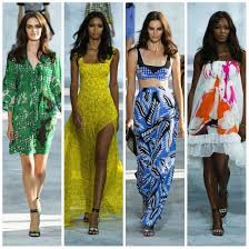 Diane Von Furstenberg spring 2015 collection New York Fashion Week               Pictures by