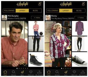 If you want to dress like your favorite TV character or personality the Spylight app makes it simple to do.