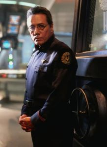 Mexican actor Edward James Olmos on what it was like being the only latino in the sci-fi series.