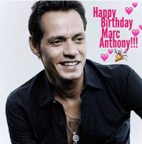 Marc Anthony turns 47 on September 16th.