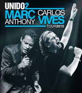 Carlos VIves and Marc Anthony kick off the UNIDO2 tour