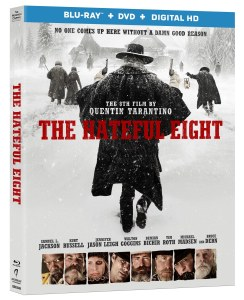 The Hateful Eight film is now on DVD and Blu-Ray.