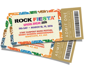 Tickets to Hal Davidson's Rock Fiesta range from $85 for a one-day ticket to $350 for a two-day VIP ticket. (Photo courtesy of Rock Fiesta)