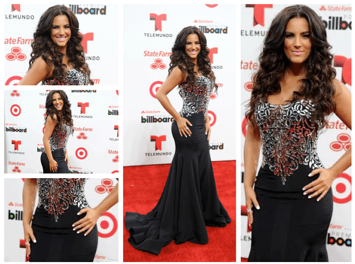 Gaby Espino looked beautiful at the 2014 Latin Billboards