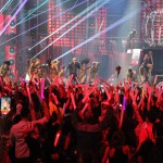 Pit Bull, Mr. 305, delivered an action-packed performance at Premios Juventud 2014.