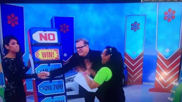 """Manuela Arbelaez's mistake on """"The Price is Right"""" cost about 26,000"""