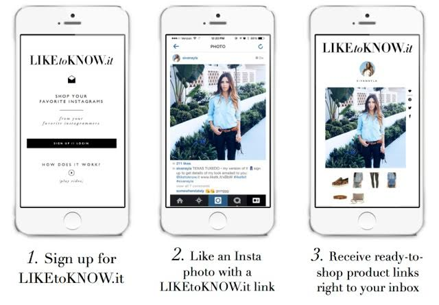 Like it Know it is a very convenient app if you want to know where to shop for all the clothes you like on Instagram.