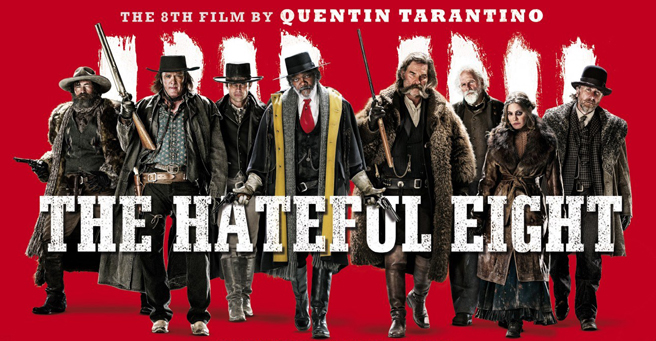 You can now take The Hateful Eight home with you.