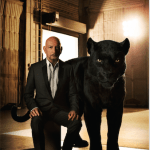 Sir Ben Kingsley is the voice of the black panther Baheera