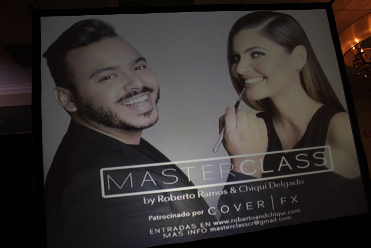 Roberto Ramos is a celebrity make up artist who works with t.v. host Chiquinquira Delgado.