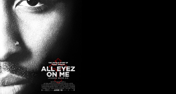 ALL EYEZ ON ME biopic movie poster.