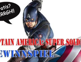 Captain America: Super Soldier Gewinnspiel