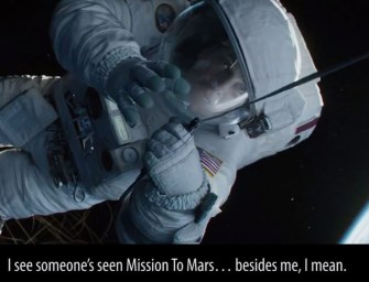 Clip des Tages: Everything Wrong With Gravity (mit Neil deGrasse Tyson)