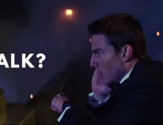 Clip des Tages: Wie wird man Tom Cruise?