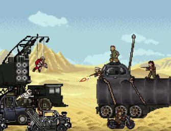 Clip des Tages: Mad Max: Fury Road (8-Bit Version)