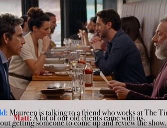 Clip des Tages: Realistische Dialoge in den Filmen von Noah Baumbach