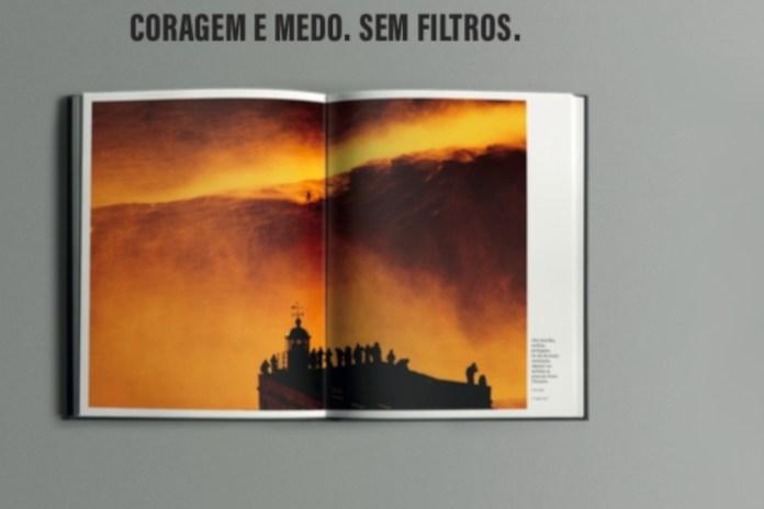 livro de fotografia da revista sábado