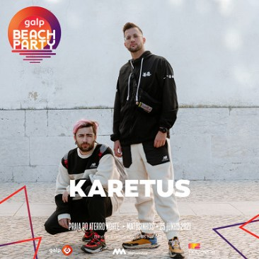 karetus no cartaz galp beach party 2021