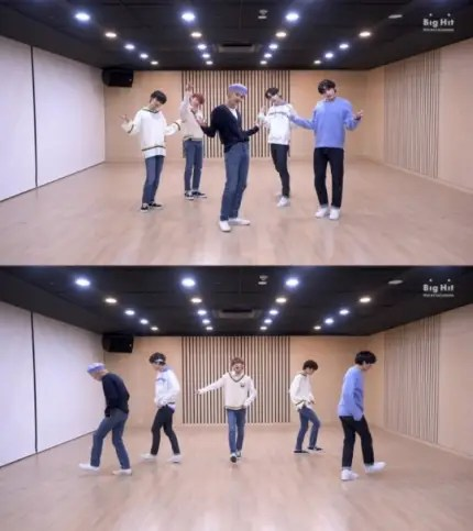 """TOMORROW X TOGETHER reveals their dance practice video for """"Can't We Just Leave the Monster Alive?"""""""
