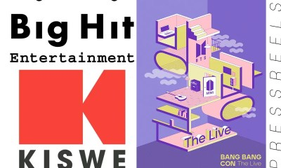 I watch BTS online concert multi-view - Big Hit Entertainment-Kiswe, Signing MOU