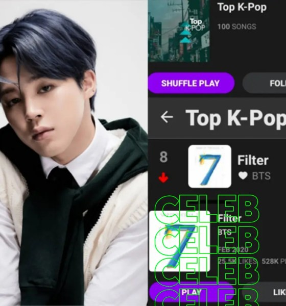 Bts Jimin Filter Middle East Largest Music Site Anghami Top10 Pressreels