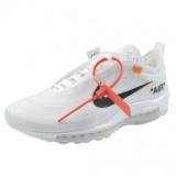 1590636 thum - Nike Air Max 97 Off-White ナイキ AJ4585-100 ナイキ エア マックス97 x (オフホワイト) ホワイト/ホワイトマスリン WHITE/WHITE-MUSLIN 白 レディース&メンズ