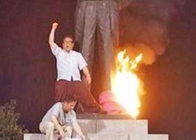 1024 03 1 - 仁川上陸作戦のマッカーサー像に再び火付ける それでも韓国は逮捕せず