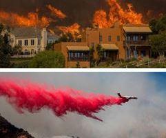 1112 09 1 - カルフォルニアの山火事31人死亡 30万人避難 鎮火率まだ25%