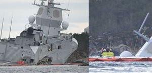1119 01 1 - タンカー フリゲート艦を沈没さす/ノルウェー