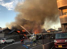 1210 12 1 - 愛知県稲沢市祖父江町で工場火災