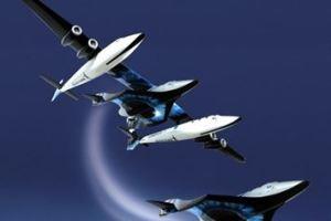 1215 03 1 - ヴァージン 宇宙旅客機大成功 宇宙空間飛行し帰還 「VSSユニティー」