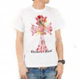 1616460 thum 1 - 2014春夏 CHROME HEARTS クロムハーツ 個性派 半袖 Tシャツ2色可選