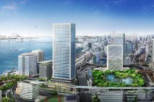 0710 05 1 - 東急不動産とソフトバンク SB本社移転地の竹芝一帯をスマートシティ構想