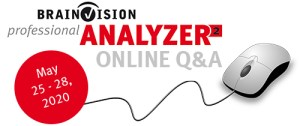 BrainVision Analyzer 2 - Online Q&A Sessions
