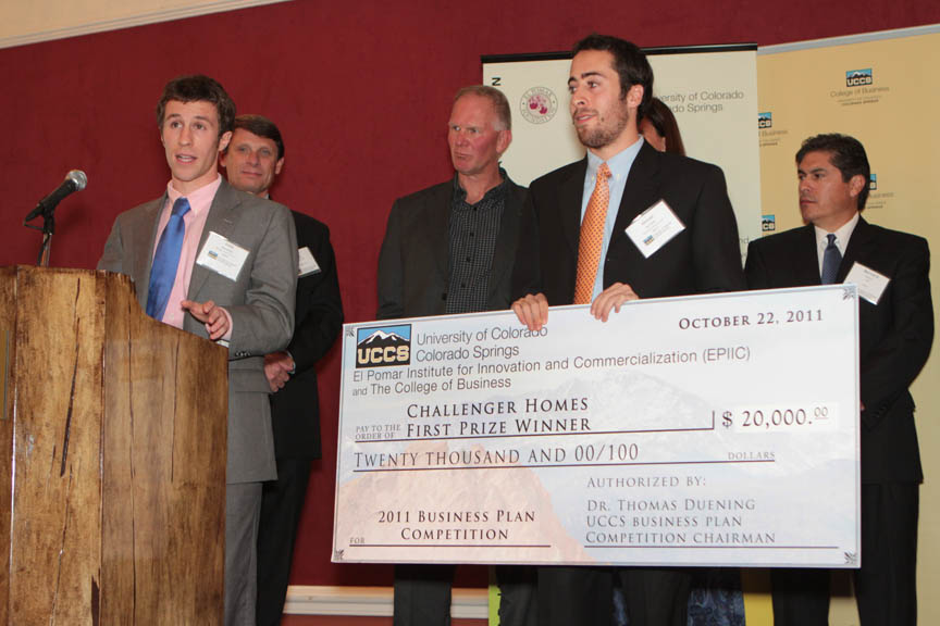 uccs sports/outdoors business plan competition