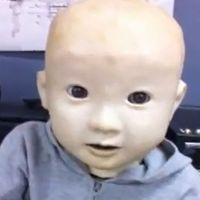 Affeto, le robot japonais qui ressemble à un bébé humain