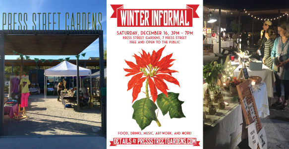 December 16: Our second-annual Winter Informal!