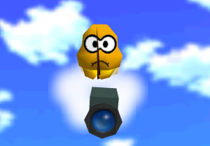 Lakitu, from Super Mario 64