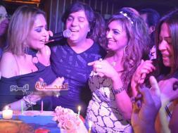 بالصور .. لينا الصافى تحتفل بعيد ميلادها بمطعم بكين