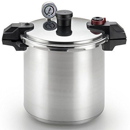 T-fal P31052 Polished Pressure Canner and Cooker