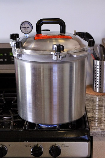 Sterilizing Canning Equipment