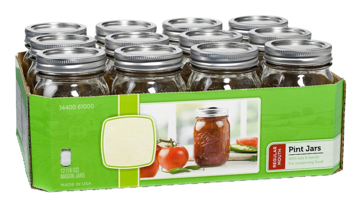 canning jars dirty