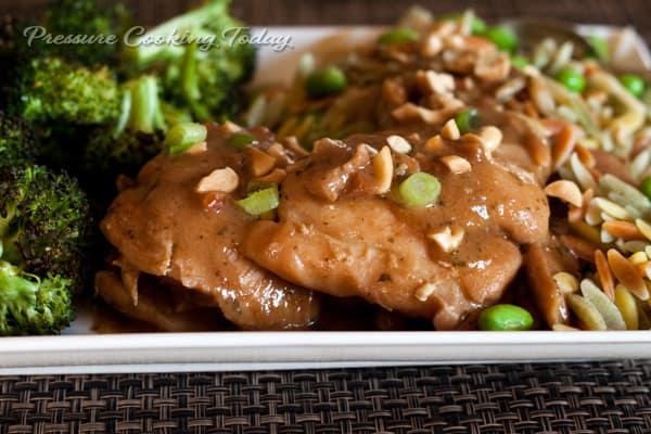 Pressure Cooker Thai Chicken Thighs