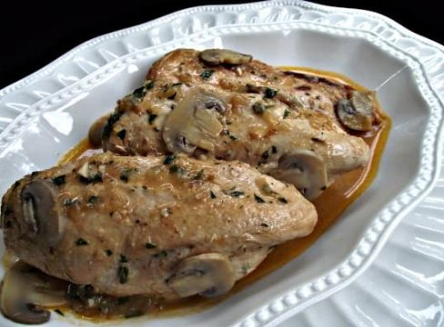 Pressure Cooker (Instant Pot) Chicken and Mushrooms